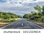 view of beautiful  road on the... | Shutterstock . vector #1011324814