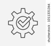 compliance icon line symbol....