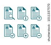 document symbol  resume symbol