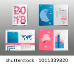 annual report 2018  cover... | Shutterstock .eps vector #1011339820