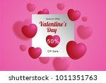 illustration of blurred heart... | Shutterstock .eps vector #1011351763