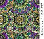 vector seamless pattern ethnic... | Shutterstock .eps vector #1011352219