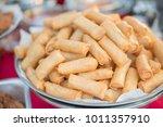 many spring roll at street... | Shutterstock . vector #1011357910