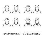 icon people  vector | Shutterstock .eps vector #1011359059