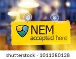 virtual money nem...   Shutterstock . vector #1011380128
