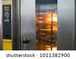 industrial oven oven for baking ... | Shutterstock . vector #1011382900