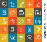 business outline vector icon... | Shutterstock .eps vector #1011399670