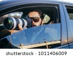 private detective investigating ... | Shutterstock . vector #1011406009