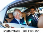 senior businessman and his... | Shutterstock . vector #1011408154