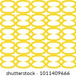 seamless ornamental vector... | Shutterstock .eps vector #1011409666
