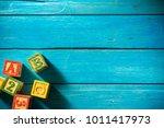 close up arrangement of... | Shutterstock . vector #1011417973
