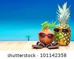 Two Fruity Friends  A Coconut...