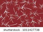 leaves pattern. bamboo leaves....   Shutterstock .eps vector #1011427738