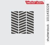 parquet floor icon isolated... | Shutterstock .eps vector #1011433228