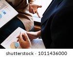 business people meeting design... | Shutterstock . vector #1011436000