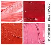 textures of pink and red broken ...   Shutterstock . vector #1011439330