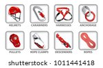 set of vector icons or... | Shutterstock .eps vector #1011441418
