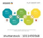 five steps development slide... | Shutterstock .eps vector #1011450568