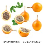 A Set Of Granadilla Fruit...