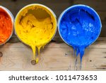 yellow orange and red colors of ... | Shutterstock . vector #1011473653