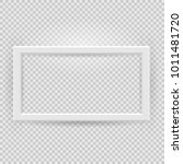 presentation rectangular... | Shutterstock .eps vector #1011481720