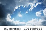 blue sky background | Shutterstock . vector #1011489913