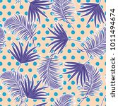 sweet pastel vector seamless... | Shutterstock .eps vector #1011494674