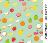 background pattern set of... | Shutterstock .eps vector #1011505144