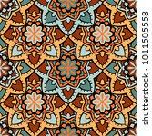 vector seamless pattern ethnic... | Shutterstock .eps vector #1011505558