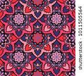 vector seamless pattern ethnic... | Shutterstock .eps vector #1011505564