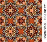 vector seamless pattern ethnic... | Shutterstock .eps vector #1011505594