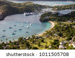english harbour is a natural... | Shutterstock . vector #1011505708