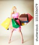 buying things  shopaholic ...   Shutterstock . vector #1011506479
