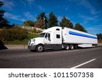 big rig american powerful white ... | Shutterstock . vector #1011507358