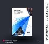 design of brochure  abstract... | Shutterstock .eps vector #1011512413