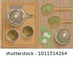 vector illustration. asian tea... | Shutterstock .eps vector #1011514264