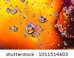 abstract molecule sctructure.... | Shutterstock . vector #1011514603