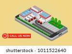 3s isometry mobile phone... | Shutterstock .eps vector #1011522640