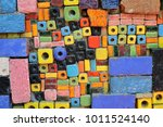 colorful and playful tiles 1 | Shutterstock . vector #1011524140