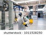 exterminator in industrial... | Shutterstock . vector #1011528250