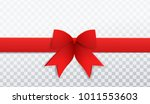 vector beautiful realistic red... | Shutterstock .eps vector #1011553603