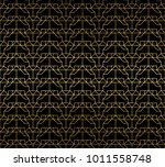 abstract golden texture... | Shutterstock .eps vector #1011558748