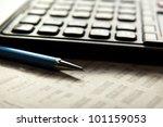 office still life | Shutterstock . vector #101159053