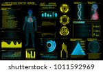 modern medical examination in... | Shutterstock .eps vector #1011592969