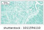 turin italy city map in retro... | Shutterstock .eps vector #1011596110