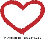 set of hearts . grunge stamps... | Shutterstock .eps vector #1011596263