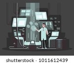 innovative technologies in use. ... | Shutterstock .eps vector #1011612439