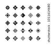 diamond shape   geometric... | Shutterstock .eps vector #1011614680