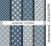 geometric vector pattern... | Shutterstock .eps vector #1011614794