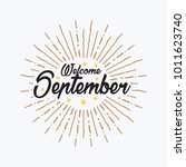 hand drawn typography lettering ... | Shutterstock .eps vector #1011623740
